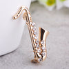Crystal Saxophone Pin - Artistic Pod Review