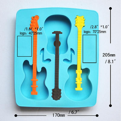 Guitar Ice Molds