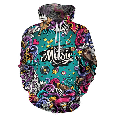 3D Print Hipster Music Hoodie - Artistic Pod Review