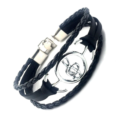 Free - Musical Note Leather Bracelet - Artistic Pod Review