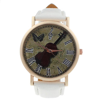 Music Violin Pattern Wristwatch - Artistic Pod Review