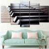5 Pieces Minimalist Piano Canvas Art - Artistic Pod Review
