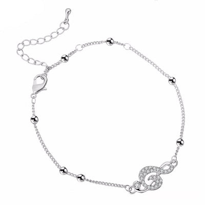 Free - Crystal Music Note Anklet - Artistic Pod Review