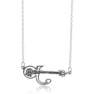 Alloy Music Guitar Chain Link Pendants Necklace - Artistic Pod Review