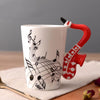 Musical Instruments Mug Collection