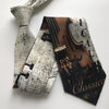 Musical Violin Necktie