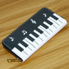 Piano Music Notes Wallet