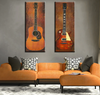 2 Pieces Guitar Wall Decor