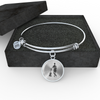 Man with Guitar Sketch Ultra Cotton Bangle & Necklace