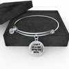 I Can't Go a Day Without Music Bangle & Necklace