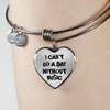 I Can't Go a Day Without Music Necklace & Bangle
