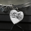 Music is not what I Do Necklace & Bangle