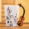 Violin Ceramic Mug - Artistic Pod Review