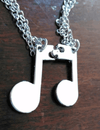 Music Note Friendship Pendant Necklace - Artistic Pod Review