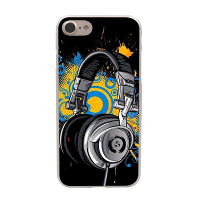 Music Black Hard iPhone Case - Artistic Pod Review