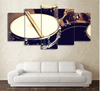 5 Pieces Contemporary Drum Canvas Art - Artistic Pod Review