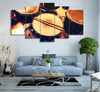 5 pieces Timeless Drum Canvas Art - Artistic Pod Review
