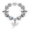 Music Notes Dragonfly Charms Bracelet