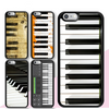 Piano Keys Printed iPhone Case