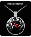 MUSIC IS LIFE - HEART BEAT™  - Made in USA