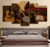 5 Pieces Country Guitar Canvas Art - Artistic Pod Review