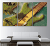 3 piece Guitar Island Canvas Art - Artistic Pod Review