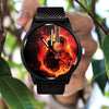 Awesome Fire Guitar Watch - Artistic Pod Review