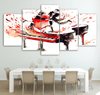 5 Pieces Piano With Dancers Canvas Art - Artistic Pod Review