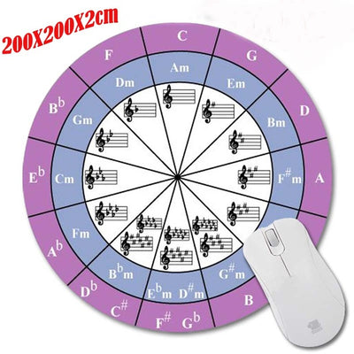 Free - Music Note Round Mouse Pad - Artistic Pod Review