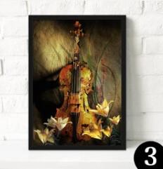 Music Canvas Wall Decor (NO FRAME) - Artistic Pod Review