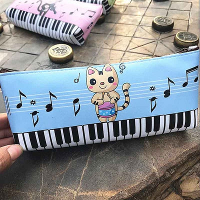 Free - Piano Key & Music Note Pen Bag - Artistic Pod Review