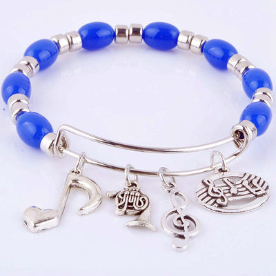 Free - Musical Note Beads Bangle - Artistic Pod Review