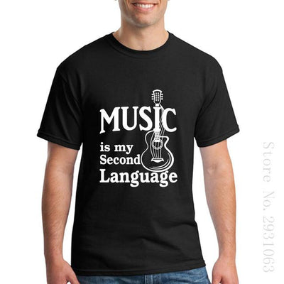 """Music is My Second Language"" Shirts - Artistic Pod Review"