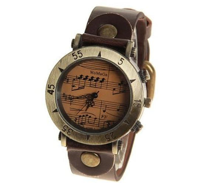 Vintage Musical Score Watch
