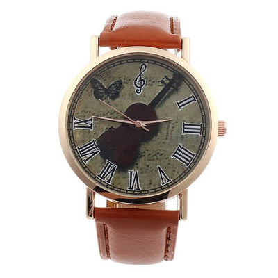 Violin Leather Watch