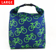 Lunch Bag Large (Bike Blue) - KIVIBAG