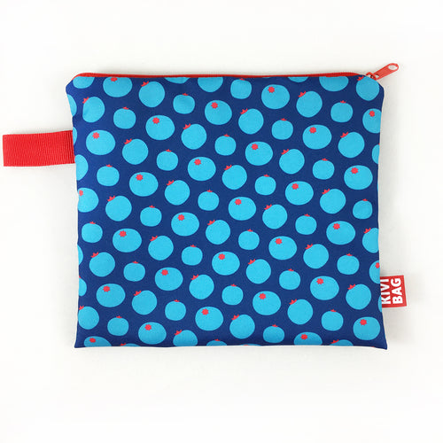 Zipper Bag  (Blueberry) - KIVIBAG