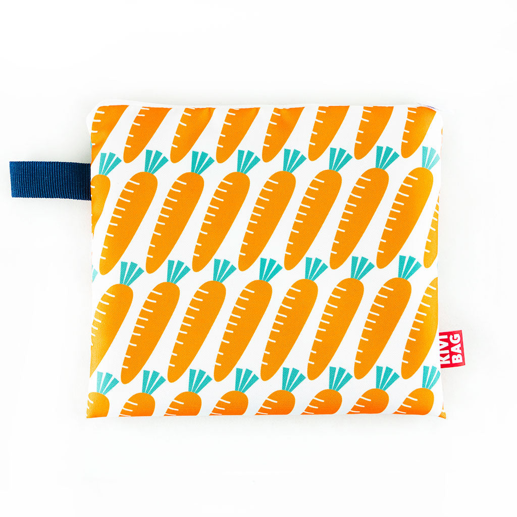 Zipper Bag (Carrot)
