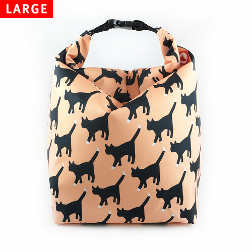 Lunch Bag Large (Cat) - KIVIBAG