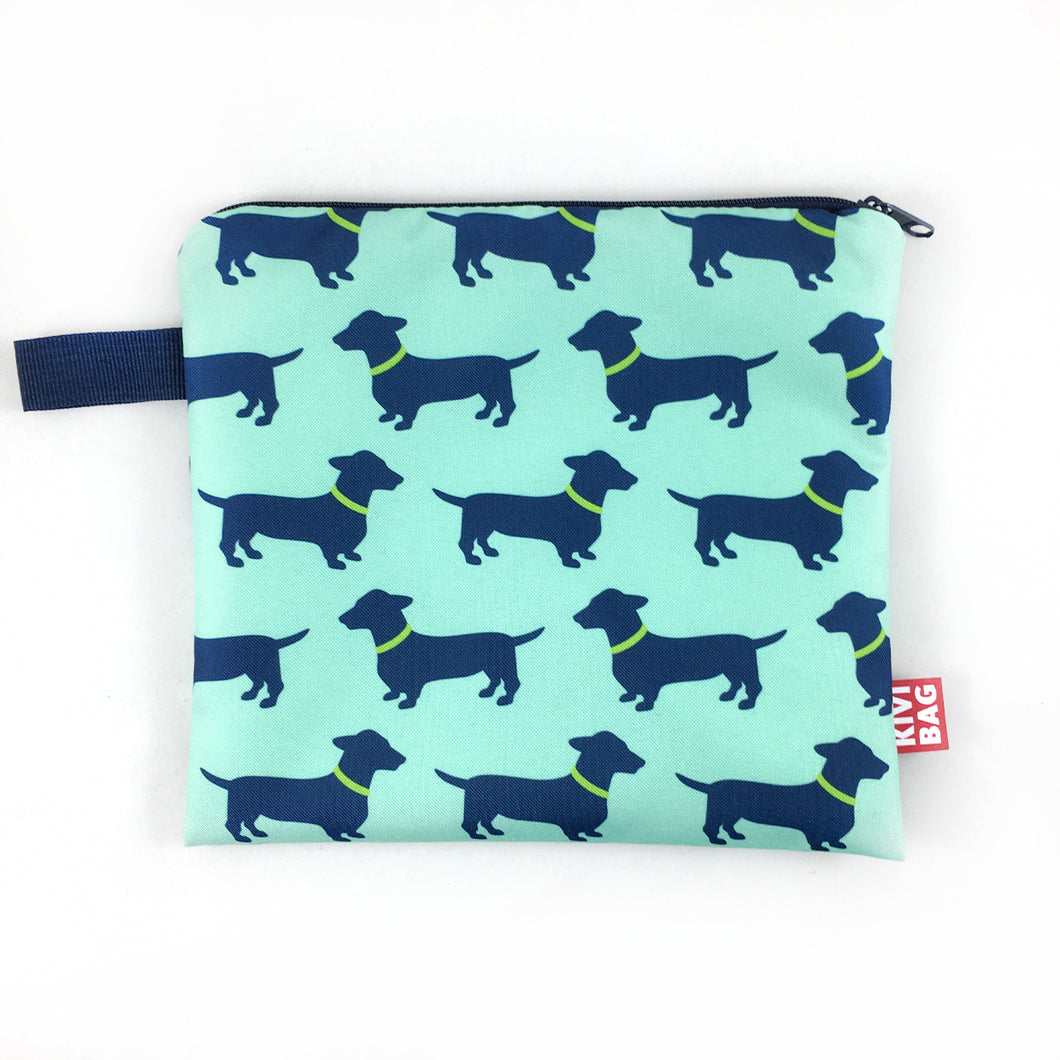 Zipper Bag (Dachshund) - KIVIBAG