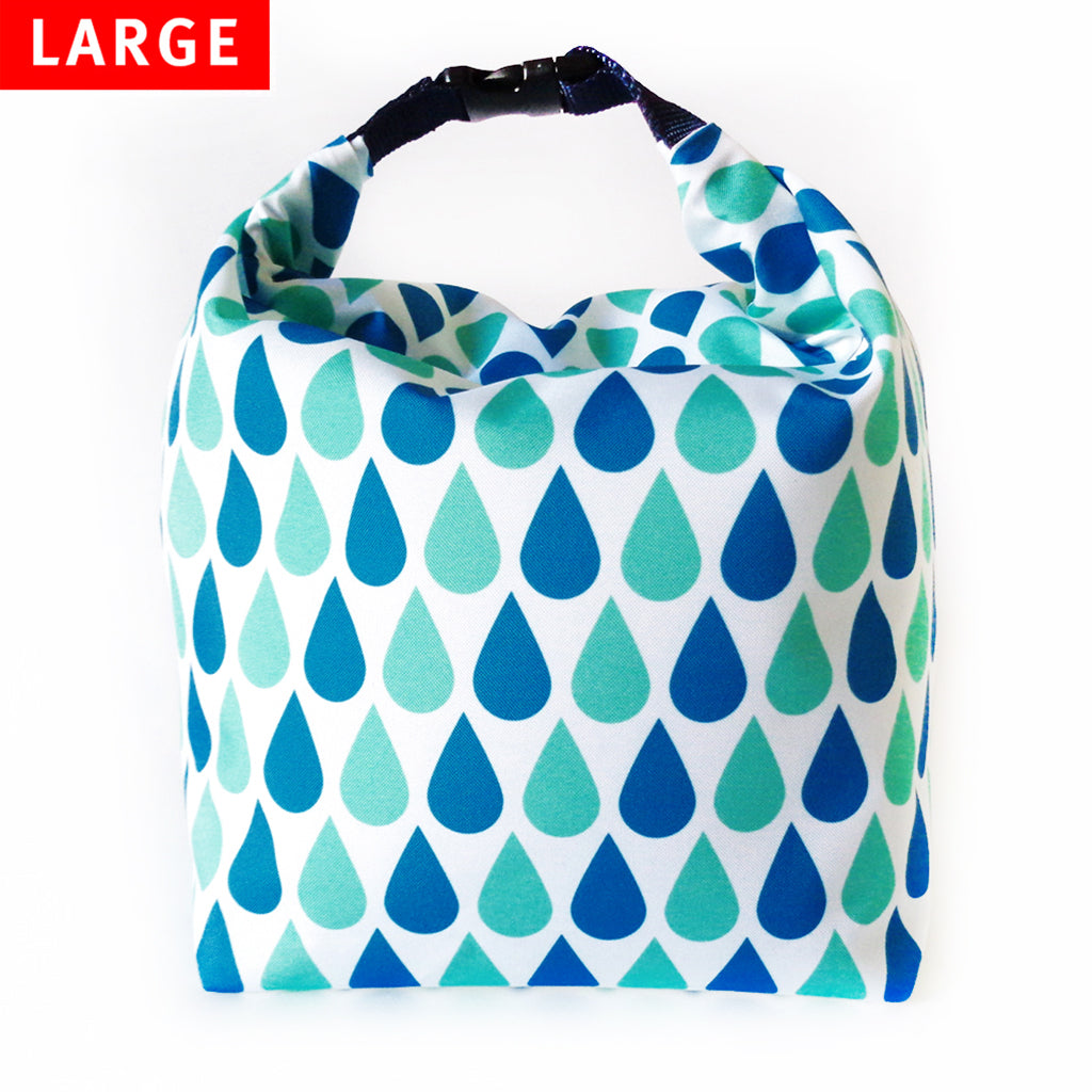 Lunch Bag Large (Drops) - KIVIBAG