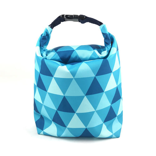 Lunch Bag (Triangle Blue)