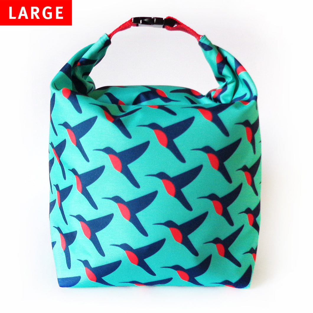 Lunch Bag Large (Hummingbird)