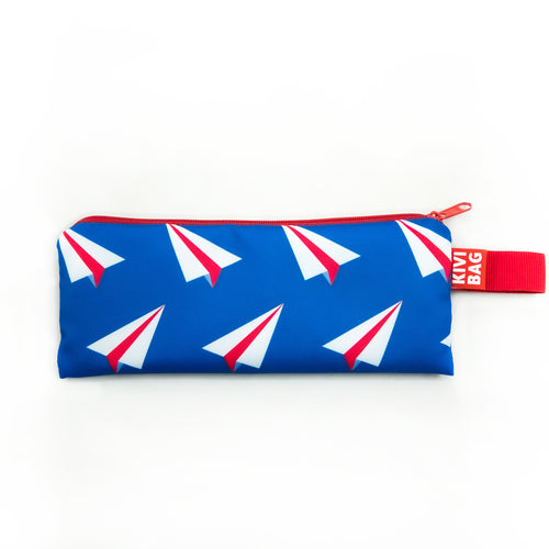 Zipper Bag Small (Paper Plane)