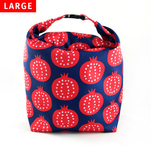 Lunch Bag Large (Pomegranate) - KIVIBAG