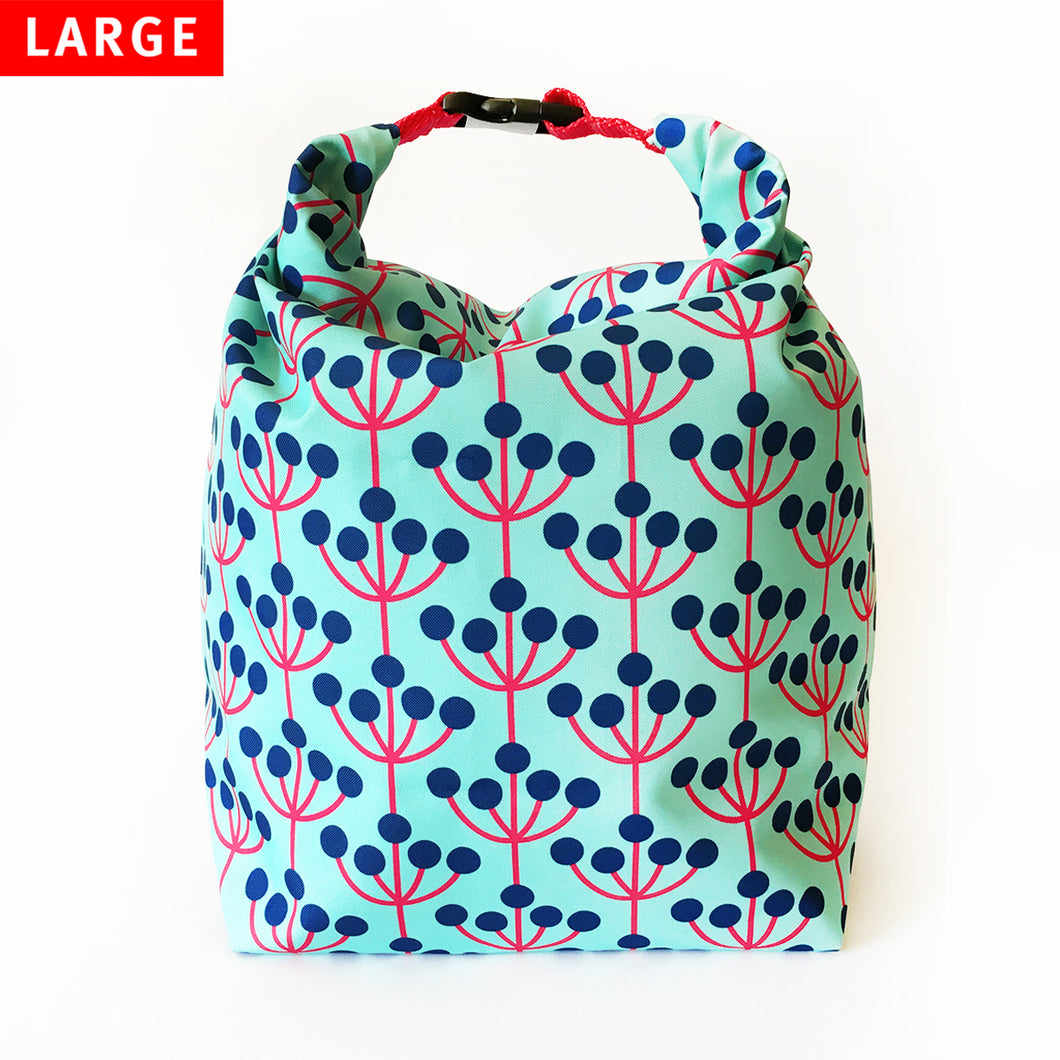 Lunch Bag Large (Wild Grapes) - KIVIBAG
