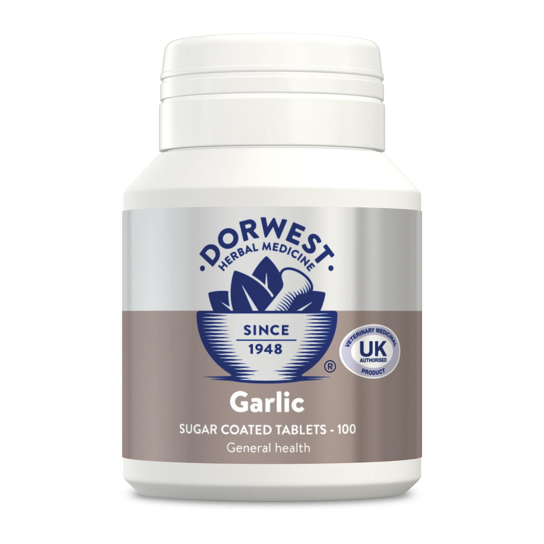 Dorwest Garlic Tablets For Dogs And Cats