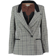 In Check Blazer