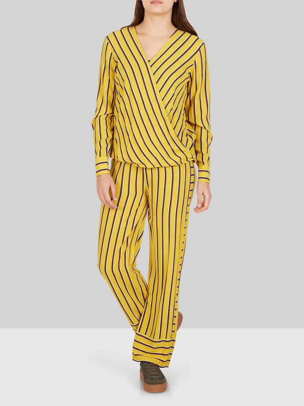 Striped Wide Trouser