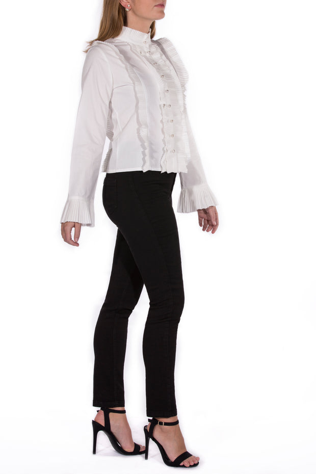 Cheap Frills Pearl Blouse